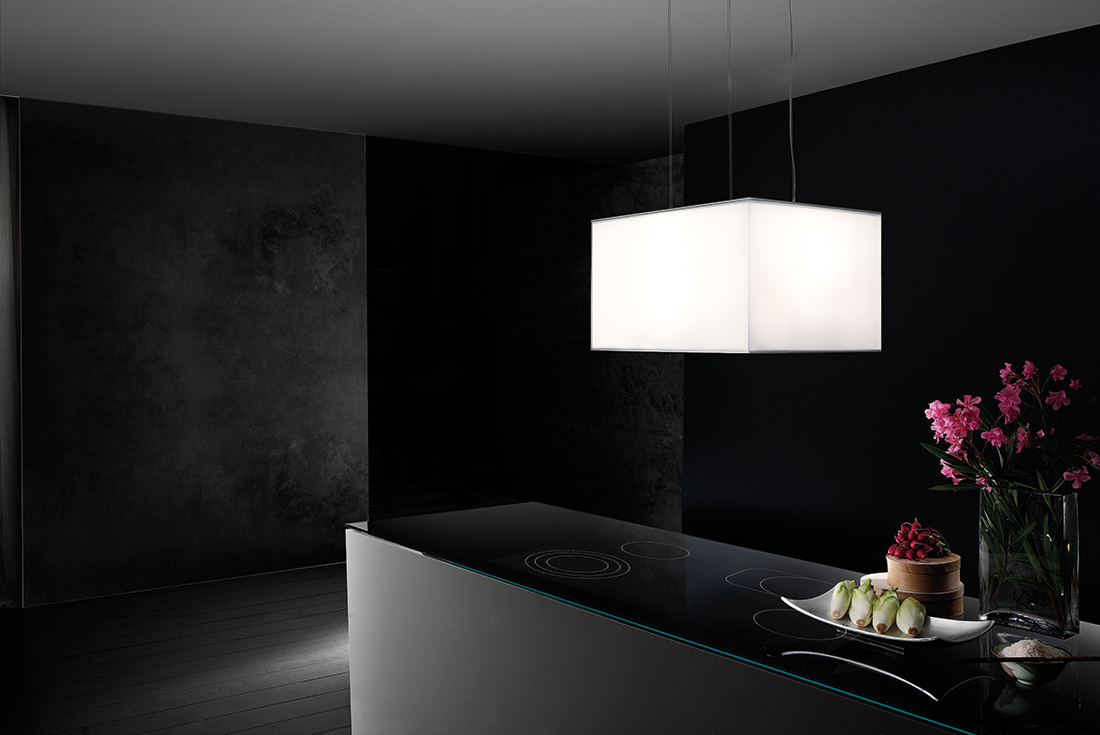 turandot isola cappe da cucina di alta qualit e dal design raffinato. Black Bedroom Furniture Sets. Home Design Ideas