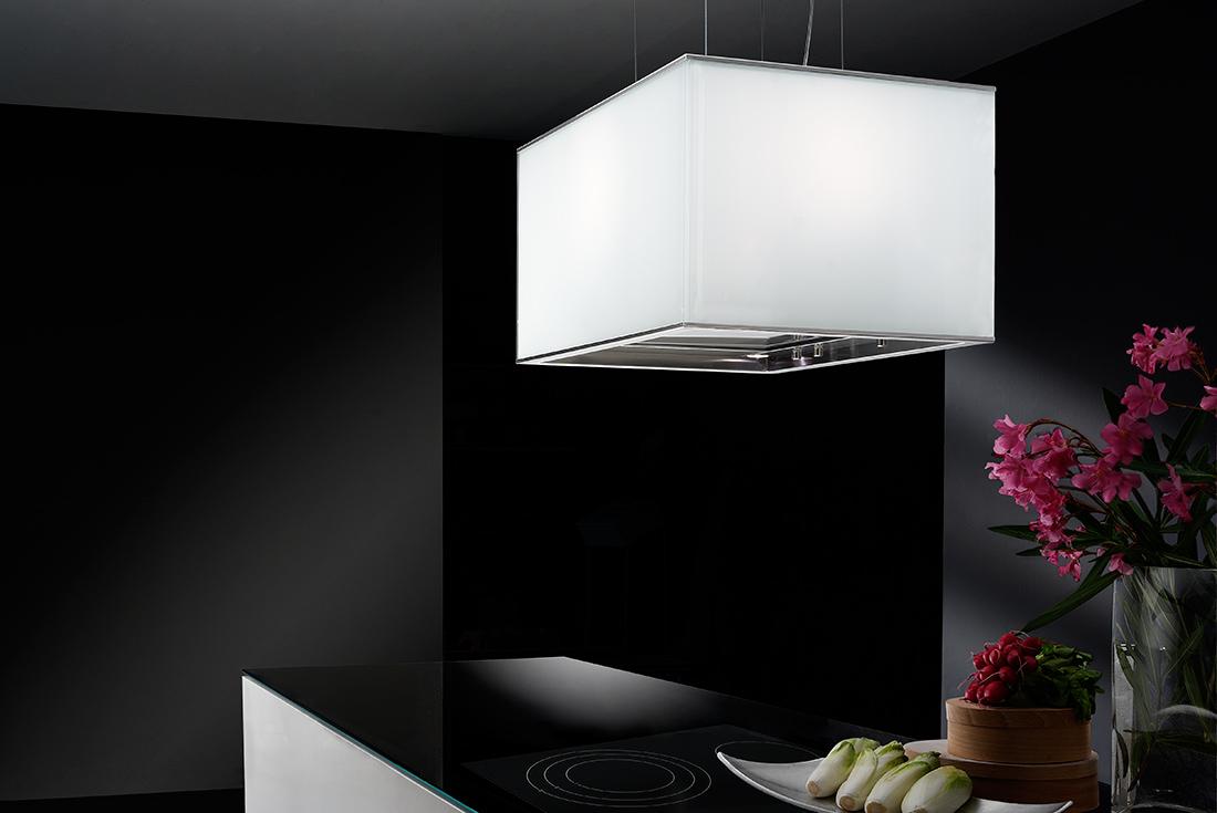 Turandot isola - Cappe da cucina di alta qualità e dal design raffinato