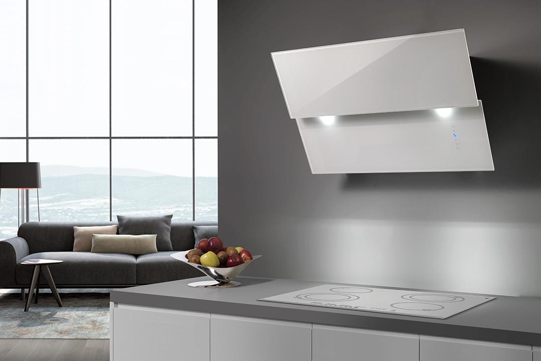 Vivaldi cappe da cucina di alta qualit e dal design raffinato - Scarico fumi cappa cucina a parete ...