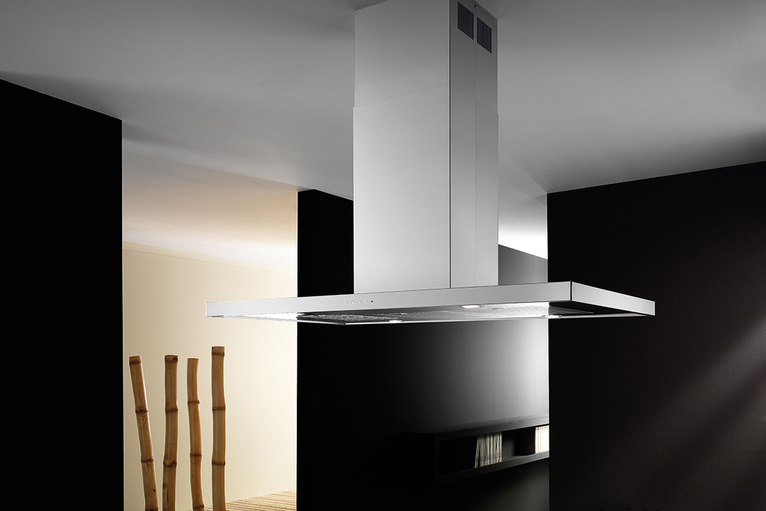 Slim Isola - Cappe da cucina di alta qualità e dal design raffinato
